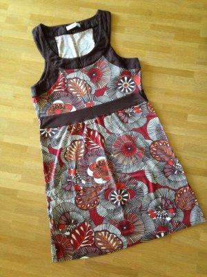Sommerkleid in braun Tönen