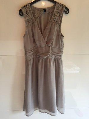 Sommerkleid in grau/ 1x getragen