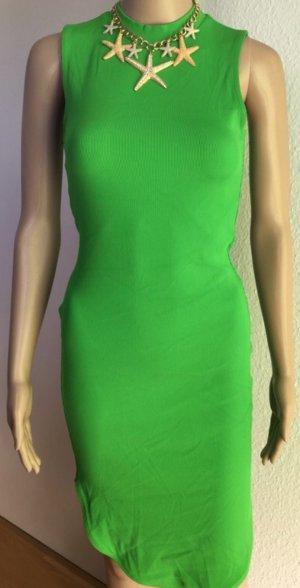 H&M Vestido de tubo verde neón