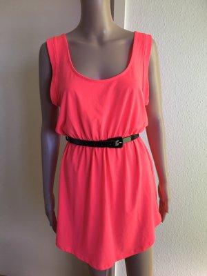 Sommerkleid in orange ..