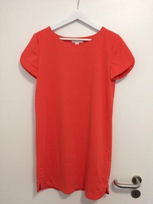 Sommerkleid in orange/rot