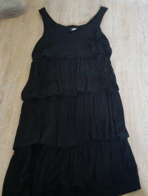 Sommerkleid in schwarz von H&M Größe S