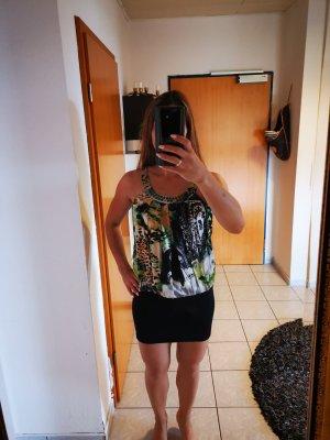 Mini-jurk veelkleurig