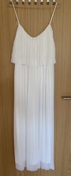 Mango Maxi Dress white