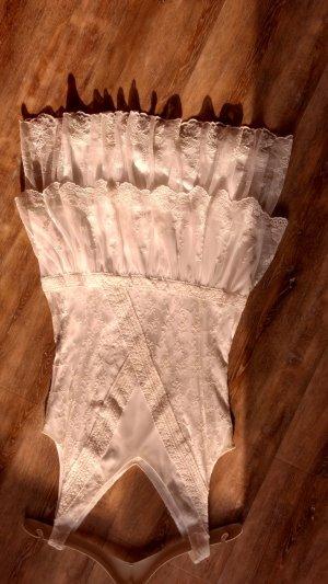 Sommerkleid in weiß mit Spitze Neu