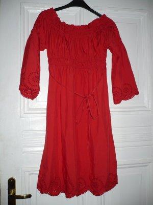 Sommerkleid kaminrot