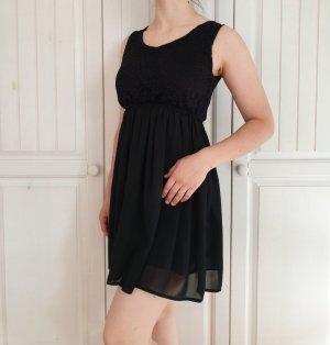 Sommerkleid Kleid Sweet Girl L XL Schwarz spitze Sommer Rock dress
