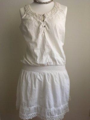 Sommerkleid Kleid weiß Gr. L
