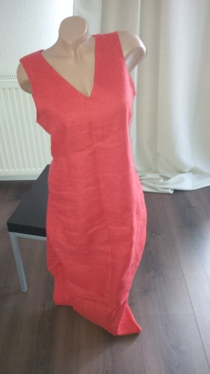 More & More Robe longue orange lin