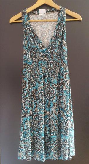 Lascana Robe de plage bleu-turquoise