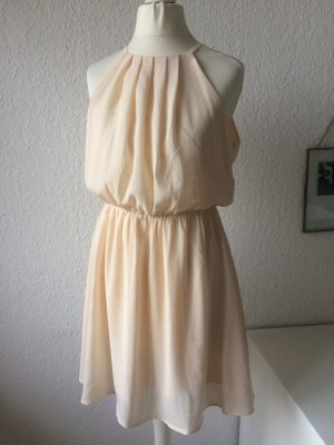 Forever 21 Chiffon jurk room-nude