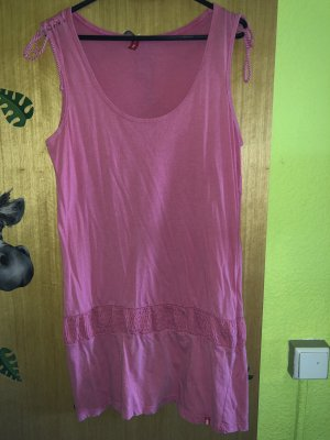 edc by Esprit Vestido estilo camisa rosa