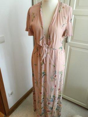 Sommerkleid Maxi mit Blumenmuster