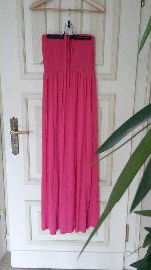 Maxi-jurk roze