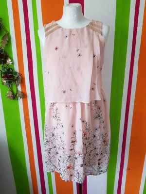 Sommerkleid Minikleid Only Gr 34 XS Kleid Printkleid Casual Neu Büro