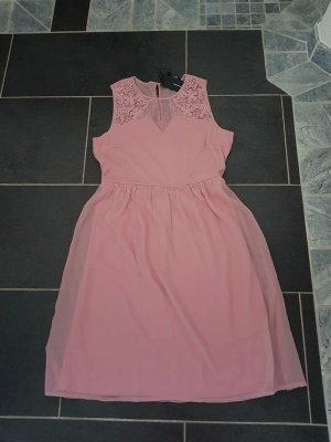 Sommerkleid Minikleid Vero Moda Gr M (38) Kleid Casual Neu Büro rosa Spitze