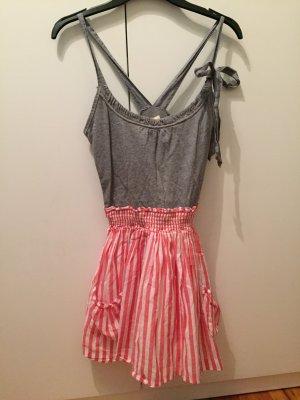 Sommerkleid mit abgesetztem Oberteil