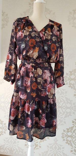 H&M Flounce Dress multicolored