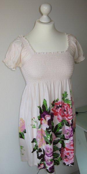 Sommerkleid mit Blütenmuster, XS