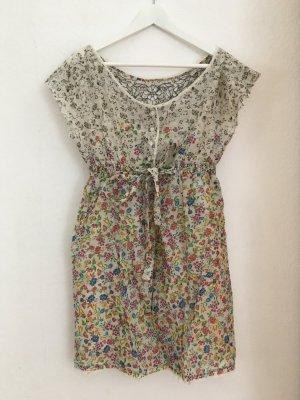 Stefanel Peplum Dress multicolored