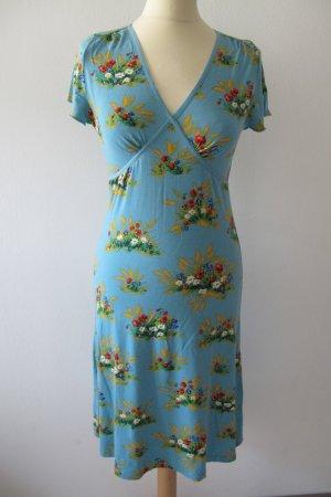 Sommerkleid mit Blumenmuster von King Louie Gr. S (36)