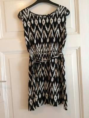 Rut & Circle Robe courte noir-blanc