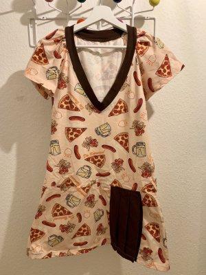 Sommerkleid mit FastFood Print