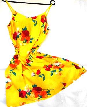 SOMMERKLEID MIT FLOWER PRINT GR.36, VON CANDA