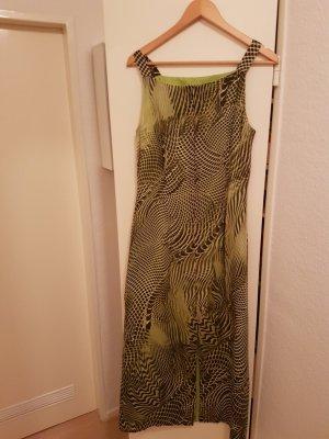 Sommerkleid mit grün/schwarzen Muster
