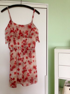 Sommerkleid mit Mohnblumenmuster