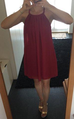 Sommerkleid mit Pailettenbesatz Gr. 36