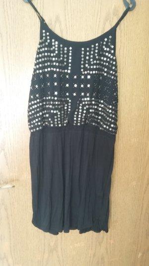 Sommerkleid mit Paillettendetails