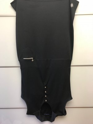 Daily Sports Polo Dress black polyester