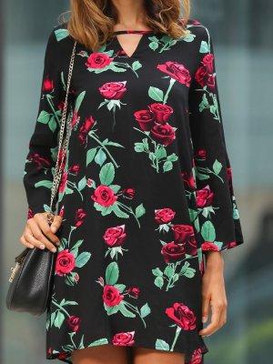 100% Fashion Longsleeve Dress black