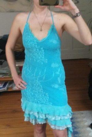 Sommerkleid mit Rüschensaum