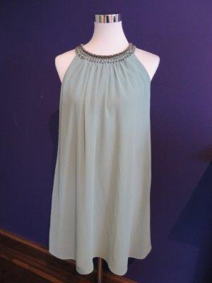 Sommerkleid mit Schmuck-Ausschnitt von Esprit