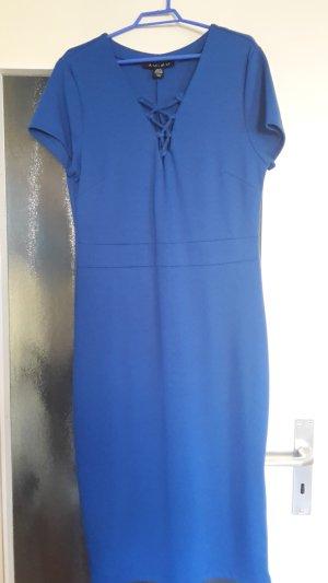 Amisu Robe fourreau bleu acier