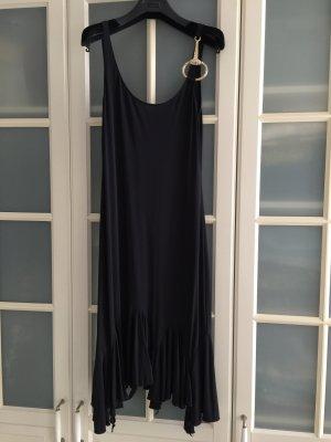 Rocco Barocco Vestido estilo flounce negro