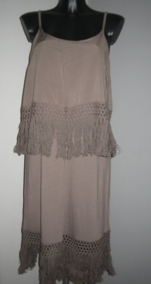 BC Collection Fringed Dress light brown