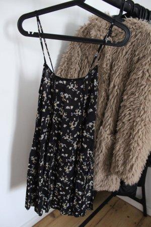 Pull & Bear Hippie Dress black-white