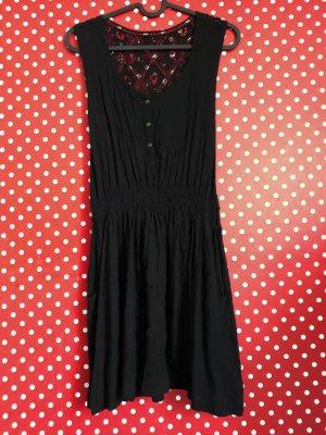 Amisu Vestido de encaje negro