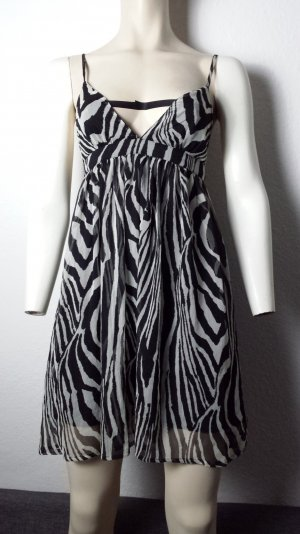 Sommerkleid mit Zebramuster Gr.36