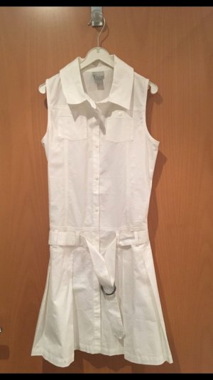 Peplum jurk wit