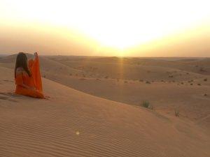 Sommerkleid Orange Einheitsgröße