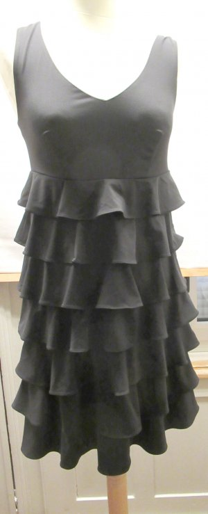 Sommerkleid, Partykleid, Neu, stretchig, Volants, Laura Scott, Gr. 34