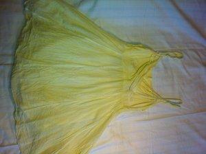 Sommerkleid pastellgelb Amisu Größe 36