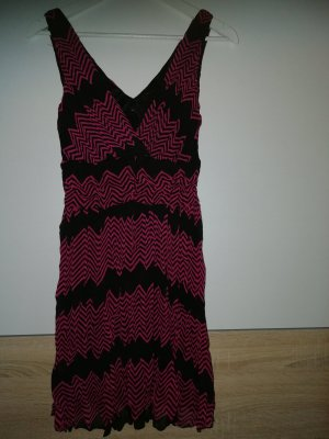 Sommerkleid pink/schwarz