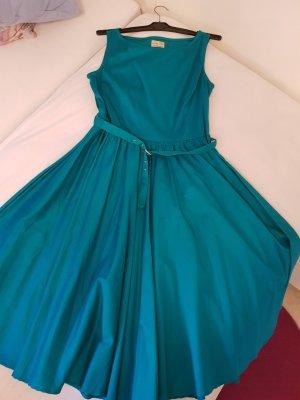 Petticoat Dress cadet blue