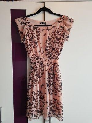 Sommerkleid rosa/rose mit Schmetterlingen