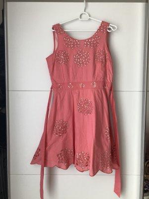 Sommerkleid rose Gr. M mit Pailletten